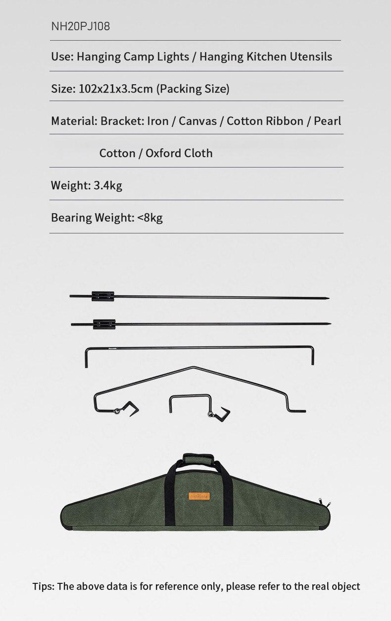 de suspensão rack portátil fácil construir fácil