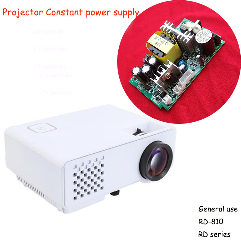 General Use LED Projector Constant Power Supply For Rigal RD-810 Series Projector DIY Repair Parts Controller
