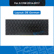 New A1708 DE German Keyboard For Macbook Pro Retina 13″ A1708 Germany keyboard Replacement 2016 2017