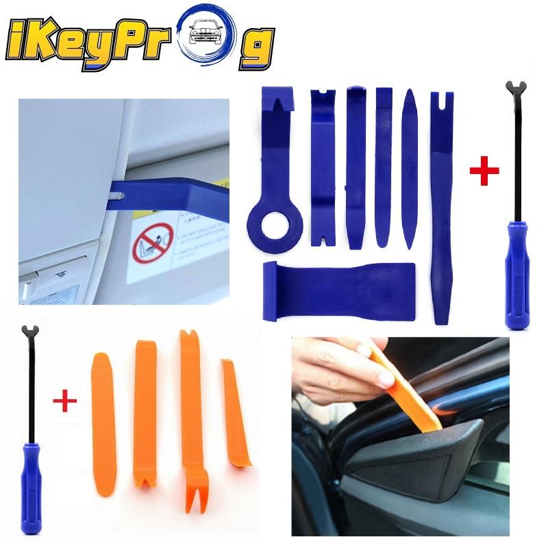 Новинка 7 шт. набор инструментов для снятия автомобильного радиоприемника зажим для автомобильной двери прибор для снятия панели отделки и...