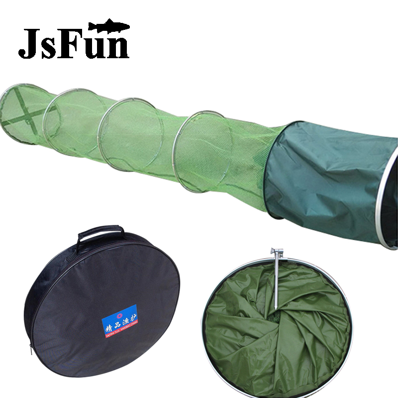 High Quality Fishing Net 5-Layers Foldable Fishing Cage Small Mesh Net Fishing Bait Trap Protable Out Fishing Tackle FO389