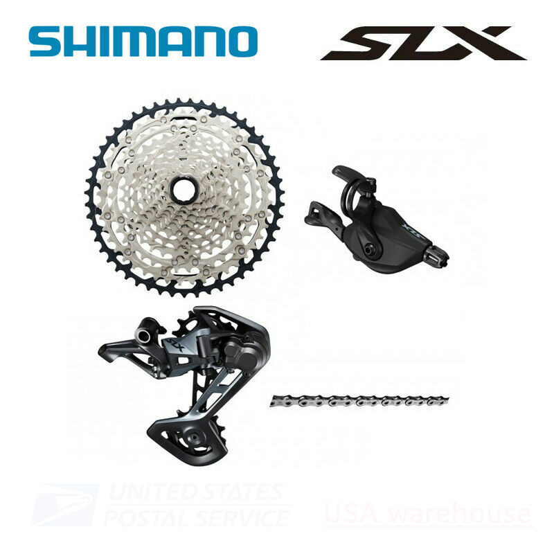 New <font><b>Shimano</b></font> <font><b>SLX</b></font> M7100 12 Speed Drivetrain <font><b>Groupset</b></font> 51T Cassette <font><b>m7000</b></font> <font><b>groupset</b></font> update image