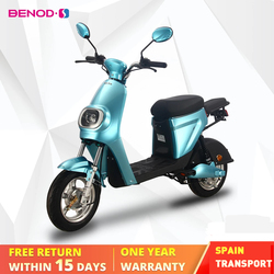 BENOD 25km/h Motocicleta Eléctrica Lithium Battery Electric Motorcycle Electric Motor Scooter Moto Electrica Moped Ebicycle