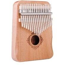 17 клавиш идеальные перчатки пианино из красного дерева калимба