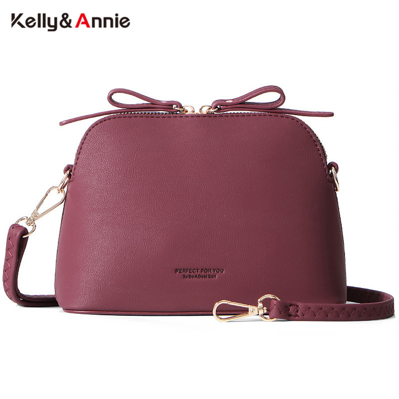 NEW Fashion Shoulder Bags Women Soft Touch Leather Crossbody Bag Female Brand Designer Handbags High Quality Shell Messenger Bag