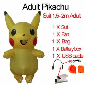 Inflatable Baymax Costume Big Hero Minion Anime Cosplay Halloween Baymax Costume For Kids Women Men Adult Pikachu Mascot Costume