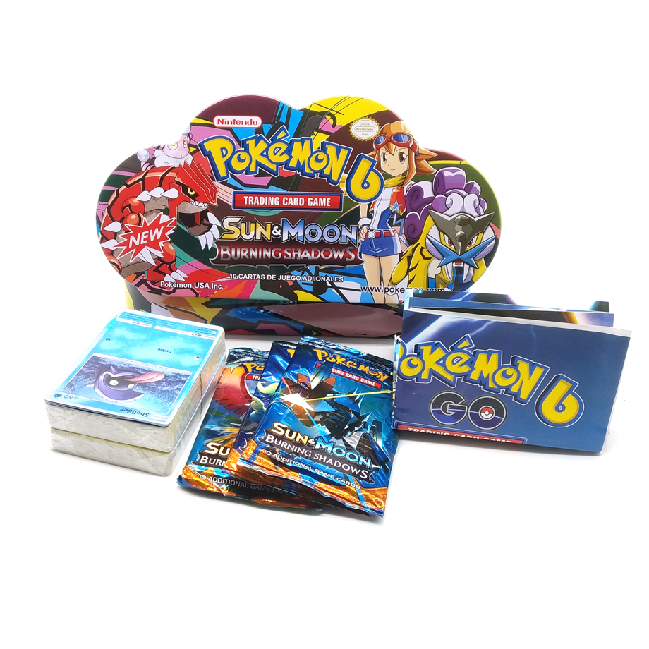 102pcs/set Carrying Case Box Pokemon TAKARA TOMY Battle Toys Hobbies Hobby Collectibles Game Collection Anime Cards for Children