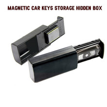 Creative Stash Key Safe Storage Box Magnetic Portable Storage Box Hidden Keys For Car Caravan Truck Home Travel Outdoor Camp