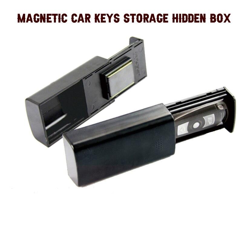 Creative Stash Key Safe Storage Box Magnetic Portable Storage Box Hidden Keys For Car Caravan Truck Home Travel Outdoor Camp(China)