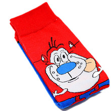 1 Pair Men  Cotton Funny Colourful Socks Cartoon Animal Dog Rabbit Novelty Gifts for Spring Autumn Winter