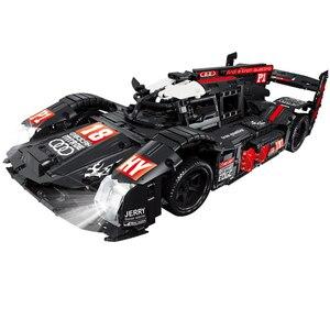 Image 5 - 23009 Ford Mustang Hoonicorn RTR V2 Racing Car with power function led light Technic 20102 MOC 22970 building block bricks Kids