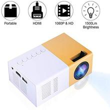 Mini Led Projector Home Cinema Hd 1080p Multimedia Player With 3.5 Mm Headphone Jack Portable for Outdoor Leisure Entertainment