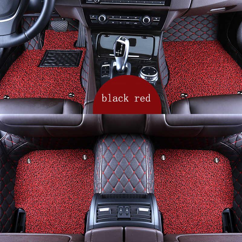 Kalaisike Custom Auto Vloermatten Voor Mazda Alle Modellen Mazda 3 6 CX-5 CX-7 CX-9 RX-7 RX-8 MX-5 Accessoires Auto styling Floor Mat