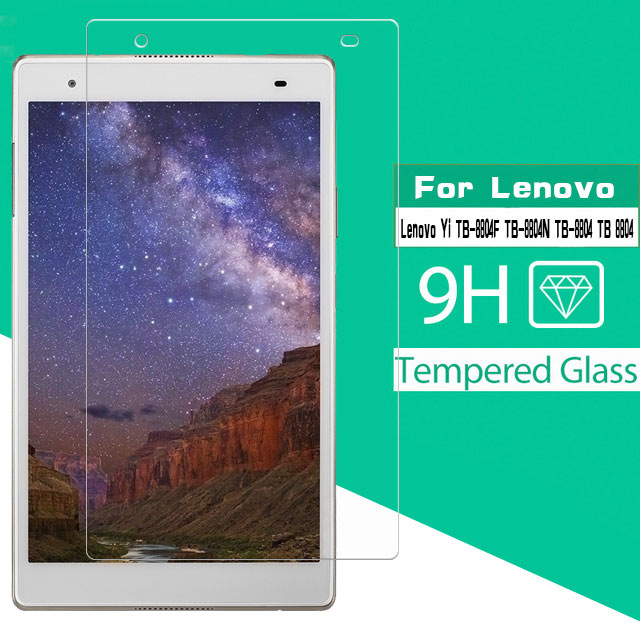 Tempered Glass Film For Lenovo Xiaoxin TB-8804F TB-8804N TB-8804 TB 8804 Tab 4 8 Plus 8.0 Inch Tablet Glass Screen Protector