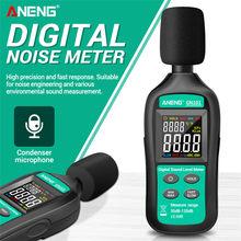 Aneng gn101 medidor de ruído digital medição 35-135 db medidor de nível de som inteligente decibel monitor registador de diagnóstico-ferramenta