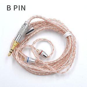 Image 4 - Наушники KZ 8 ядерный Медный Серебряный смешанный обновленный кабель 3,5 мм 2Pin MMCX разъем 0,78 0,75 для KZ CCA TFZ EDX Z1 S2 SA08 ASF ASX