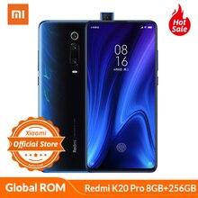 Смартфон Xiaomi Redmi K20 Pro с глобальной ПЗУ, 8 ГБ, 256 ГБ, Восьмиядерный процессор Snapdragon 855, 6,39 дюймов, AMOLED, камера 48 МП, 4000 мАч, NFC, мобильный телефон