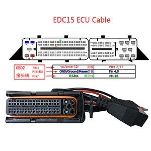 Image 4 - 81 Pins Obd Diagnostic Tools OBD2 Connectors F + Dc EDC15 EDC15P EDC15P + EDC15V EDC15VM + ME7 Ecu Kabel voor Vag Groep