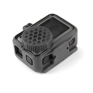 Image 3 - Schokbestendig Beschermende silicagel Lens Cover For a DJI OSMO Actie Camera Accessoires Protector Case Lens Cap For a OSMO ACTION
