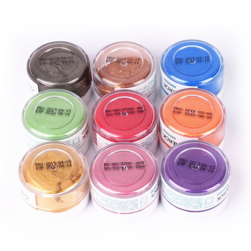 5g Flash Glitter Powder Baked Edible Pigments Decorating Food Cake Biscuit Cake H7EC
