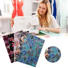 5PCS 20*25CM Cotton Fabric Printed Cloth Sewing Quilting Fabrics for Patchwork Needlework DIY Handmade Accessories animal printed cotton linen fabric patchwork canvas cloth cotton linen blend fabric handmade diy sewing quilting textile crafts