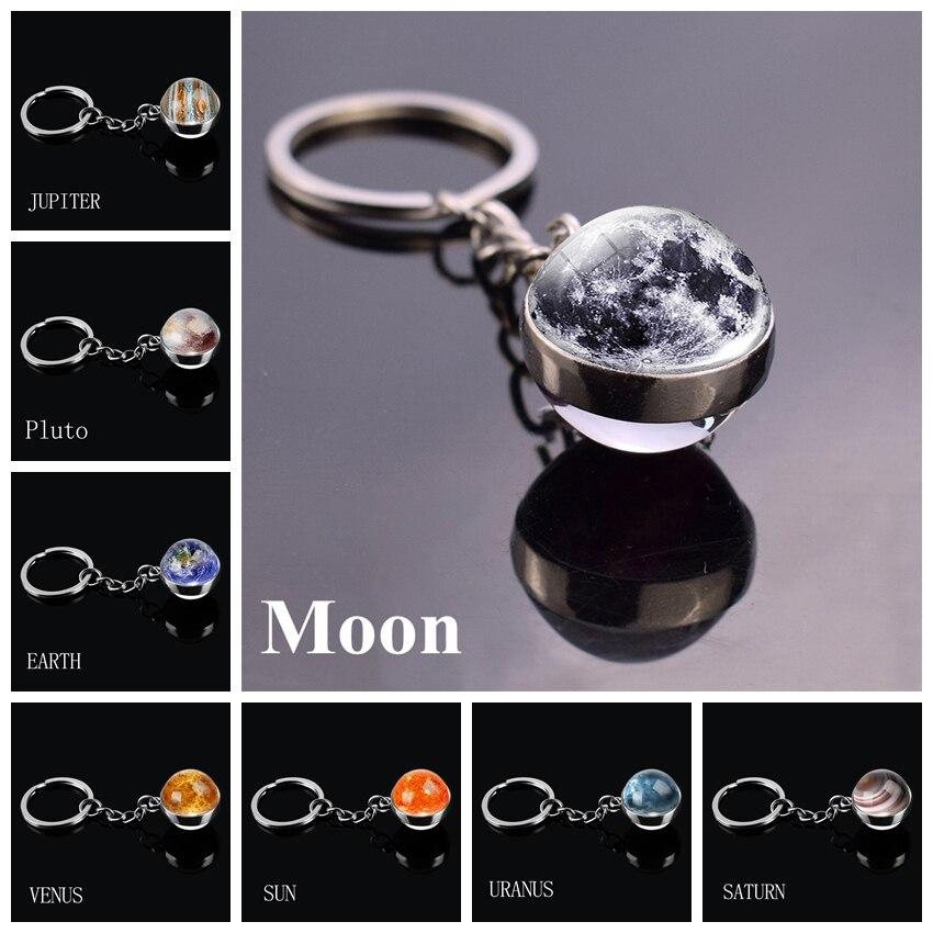 1 x Satellite Orbiting Earth Space Porte-clés IR02 Maman Papa Enfants Anniversaire Cadeau #2402