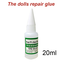 20ml Patching Fix Accessory Portable Transparent Strong Adhesive TPE Sex Doll Professional Universal Fast Repair Glue Liquid
