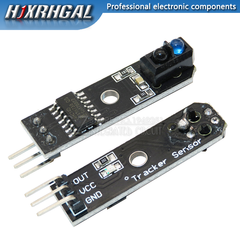Linha Pista Seguidor TCRT5000 IR Infrared Sensor De Obstáculo Avoidanc Para Arduino AVR ARM PIC DC 5V