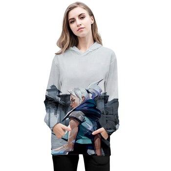 Highquality 3D Game Valorant Hoodies Boys/girls Games Hoodie Long Sleeves Men/women Sportswear Valorant Kpop Pring Pullovers 1