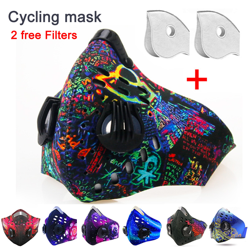 GLORSUN Anti Dust Mask For Mouth  Pm2.5 Dust Respirator Wholesale Breath  Anti Odor Pollution Running Sports Maska