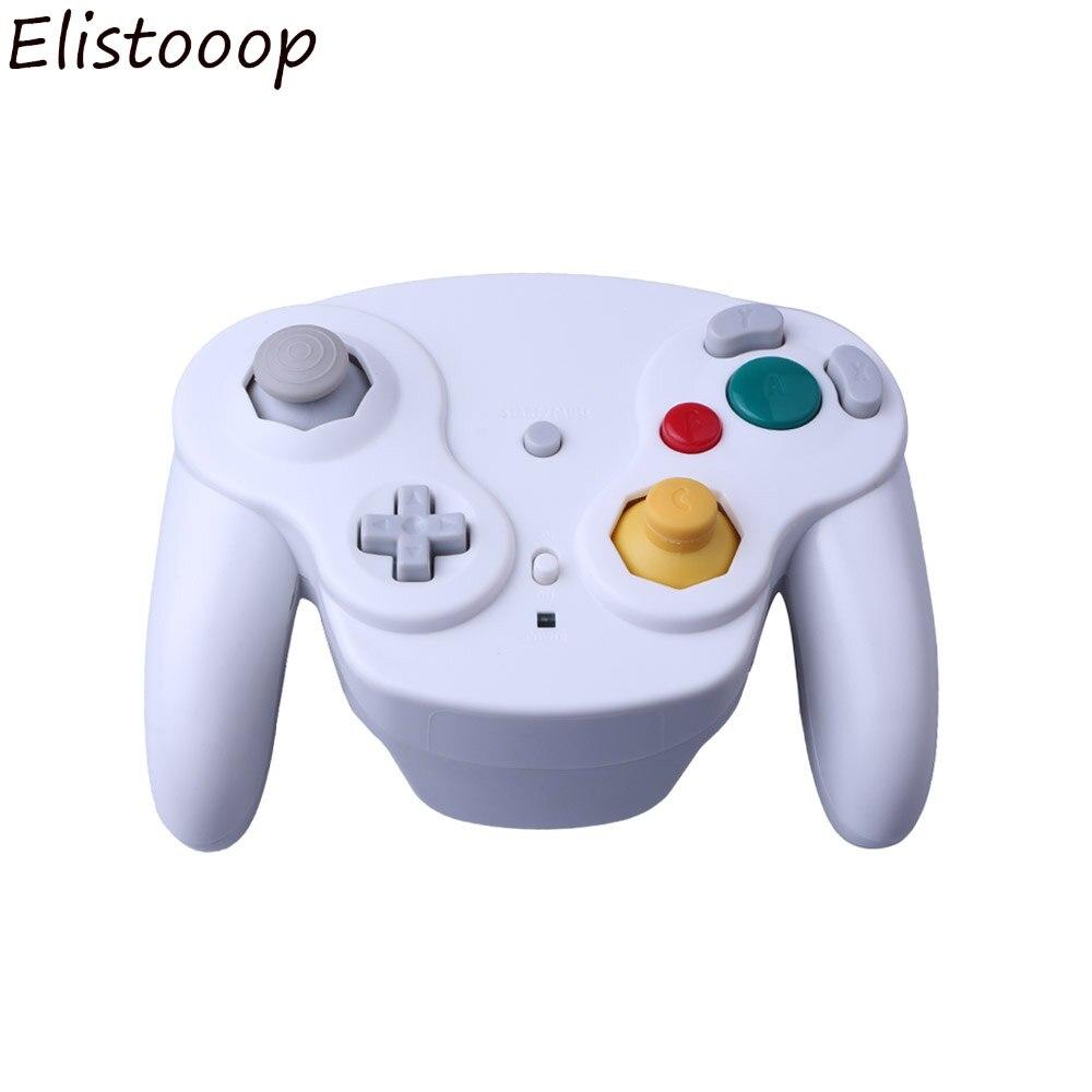 Беспроводной джойстик, геймпад, 2,4 ГГц, Bluetooth, для Nintendo GameCube, беспроводной контроллер для NGC, для Wii