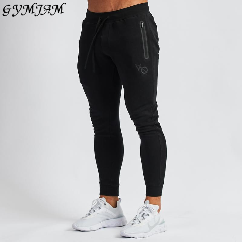 2019 New Fashion Men's Casual Pants Brand Men's Trousers Jogger Cotton Outdoor Sports Pants Casual Fitness Men's Clothing