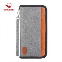 Quality Travel Passport Package Credit Card Package ID Passport Clip File Multi card Storage Bag Clutch Travel Wallet