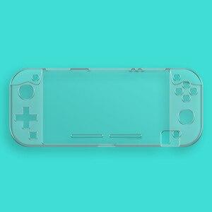 Image 4 - Étui en cristal PC rigide pour interrupteur, étui à couverture transparente pour interrupteur Nintendo Mini écran en verre trempé NS