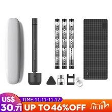Için Wowstick 1F Pro Mini elektrikli tornavida şarj edilebilir akülü tornavida seti LED ışık lityum pil