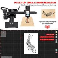 New Mini Carver Laser Head 5.5W/10W/20W Desktop Single Arm Engraver Accessory for Portable DIY Engraving Carving Machine
