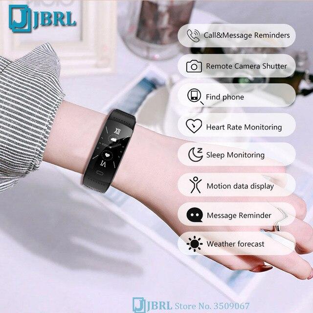 Novo relógio inteligente 2021 mulheres homens smartwatch rastreador de fitness esportes bluetooth à prova dwaterproof água pulseiras para android ios relógios digitais 5