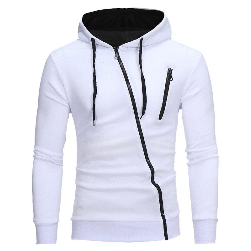 2020 New Spring Winter Fashion Casual Solid Hoodies Men Pullover Sweatshirt Men Hooded Hoodie Zipper Tops Plus Size 3XL