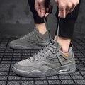 Баскетбольная обувь для мужчин и женщин  спортивная обувь с высоким берцем с воздушной подушкой для мужчин  Спортивная мужская обувь  удобн...