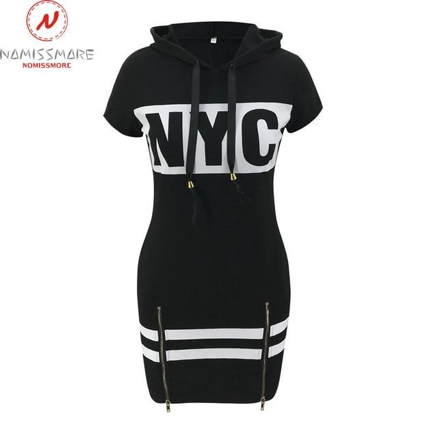 fun print hoodie dress 6