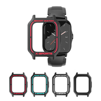 Silicone Protective Case For Amazfit GTS 2 Smartwatch Colorful Watch Case For AMAZFIT GTS2 Watch Anti-fall Anti-scratch
