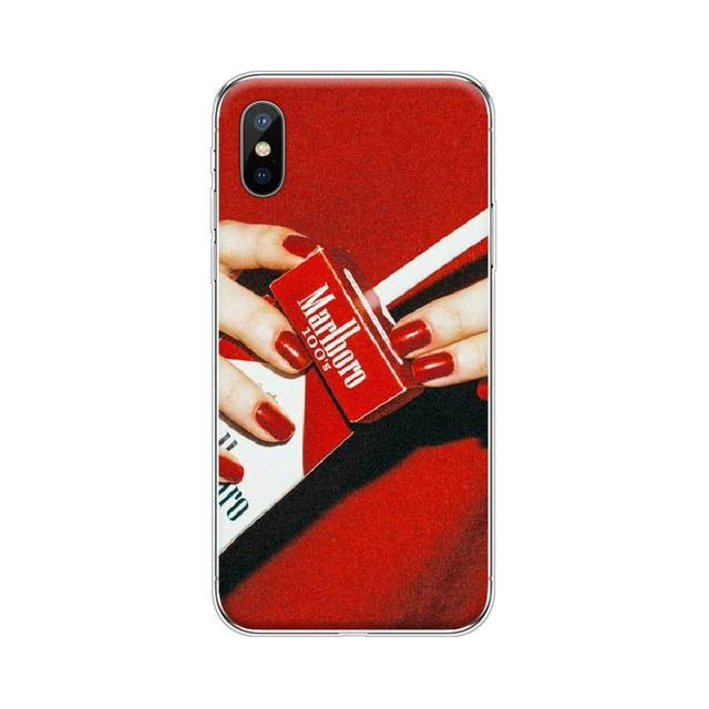 Cigarette Smoking Smoke Soft Silicone TPU Phone Cover For iphone 4 ...