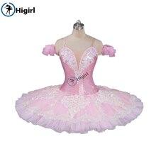 peach fairy pink ballet tutu adult nutcracker cosutmes women classical kids pancake childBT9087