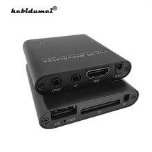 Full Hd 1080P Hdd Multimedia Speler Met Hdmi Sd Media Tv Box Usb Externe Media Player Ondersteuning Mkv H.264 rmvb Wmv Hdd Speler