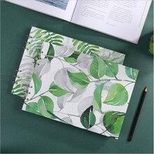 A4 художественный эскиз поперечный сечение свободный лист ручная роспись эскизная бумага 110 г Профессиональная ручная бумага для рисования цветная ведущая бумага