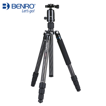 Benro C2282TV2 Tripod Carbon Fiber Tripods Flexible Monopod For Camera With V2 Ball Head Max Loading 18kg DHL Free Shipping