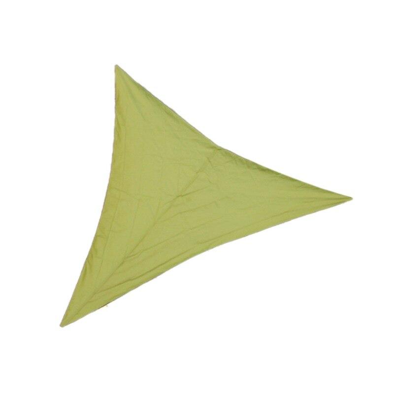 Водонепроницаемый солнцезащитный навес Защита от Солнца Открытый навес сад патио бассейн навес парус тент Кемпинг Пикник палатка верхняя крышка капля - Цвет: 3X3X3M