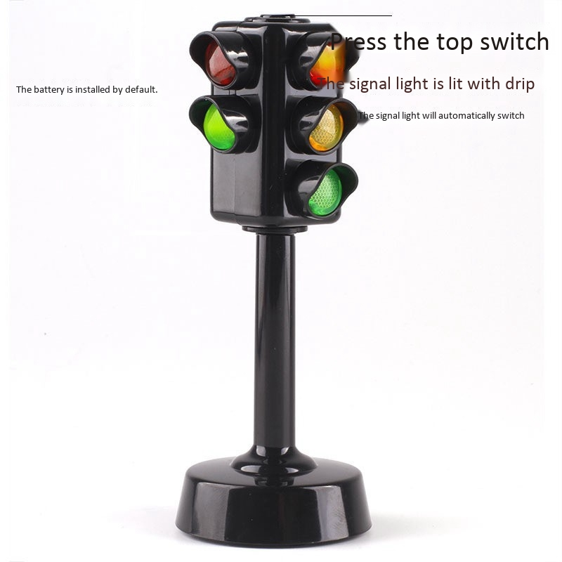 Traffic Lights Sound And Light Puzzle Early Education Simulation Children Kindergarten Baby Toys