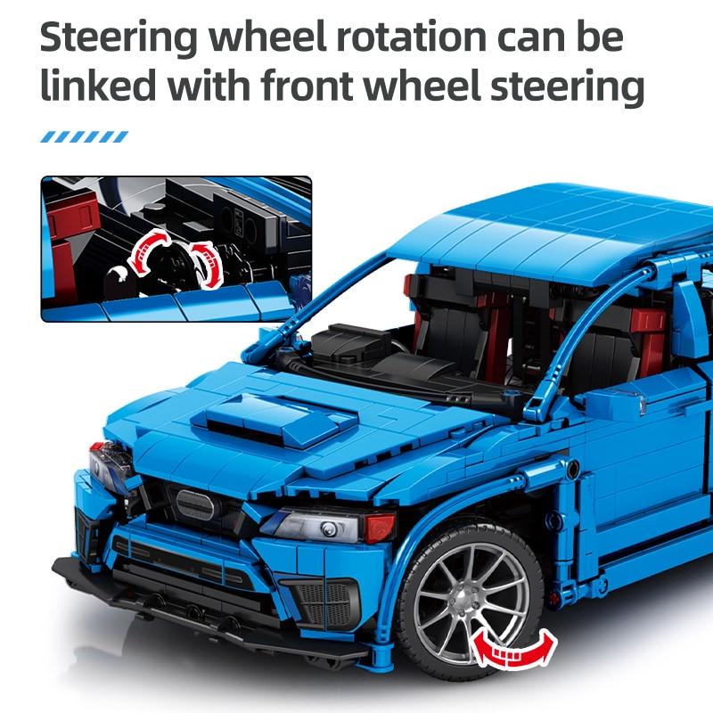 SEMBO BLOCK Technical City RC/non-RC Racing Car Building Blocks