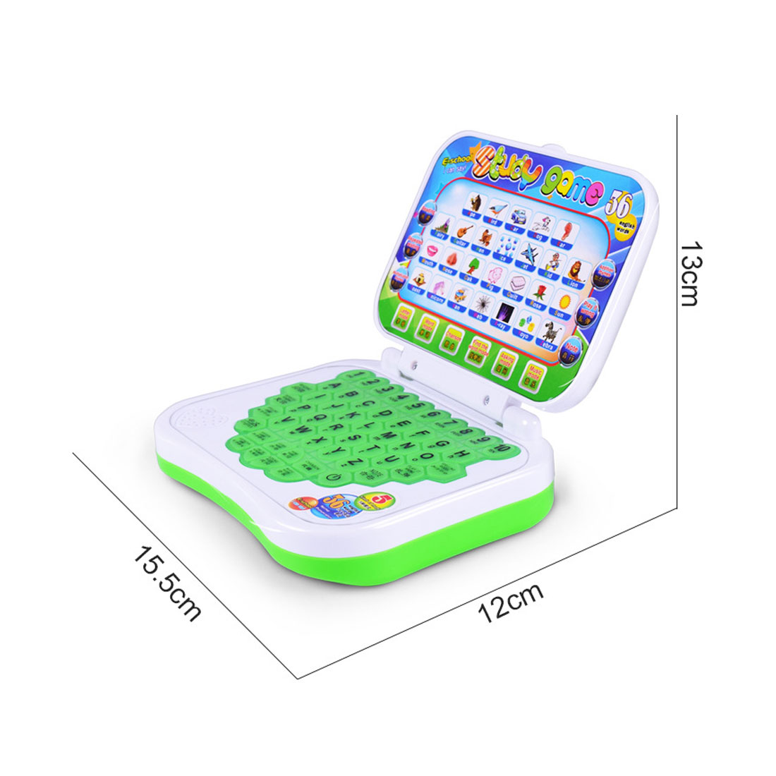 New Baby Kids Pre School Educational Learning Study Toy Laptop Computer Game Educational Toy Send in Random in Learning Machines from Toys Hobbies